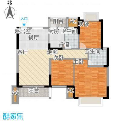 黄江江海城私宅户型