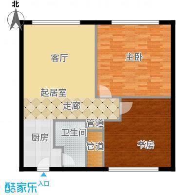 丽竣豪庭二期领寓88.00㎡丽竣豪面积8800m户型