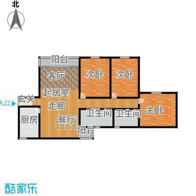 丽城旅游小区253.00㎡面积25300m户型