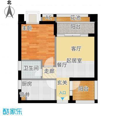 永江国际公馆户型