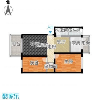 豪岗公寓88.94㎡面积8894m户型