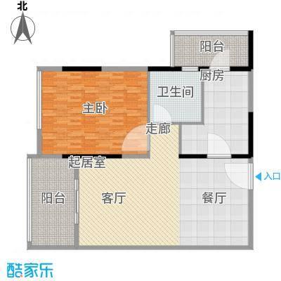 中惠新城143.00㎡面积14300m户型