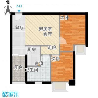 东田百达中心72.40㎡商住楼标准面积7240m户型