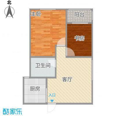 瑞星家园64平两室一厅