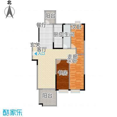 潜龙・华城90.00㎡房型户型