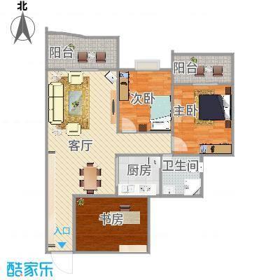 金港尚城两室一厅2