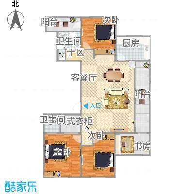 我的家三室两厅两卫