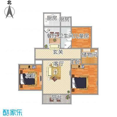 127方三房两厅