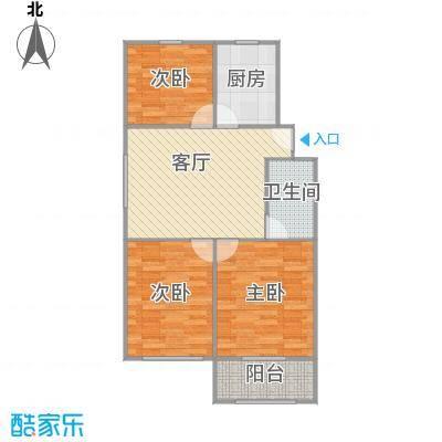 杨家桥小区的户型图