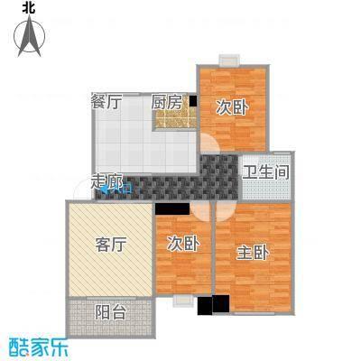 香缇豪庭112.69㎡户型3室2厅---丁鑫20150110-1