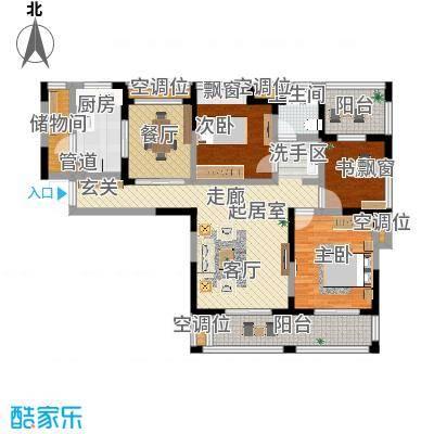 三房二厅一卫-113平米-38套