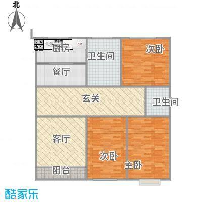 123方三室一厅