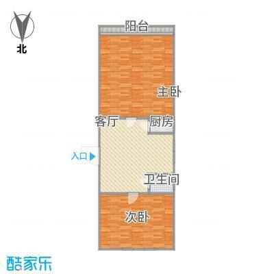65平两居室-最后一单元-4层最右手