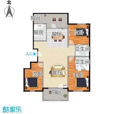 龙湖・香醍溪岸洋房122.23㎡