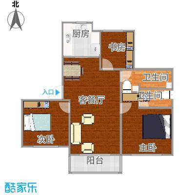 三室一厅2015011315