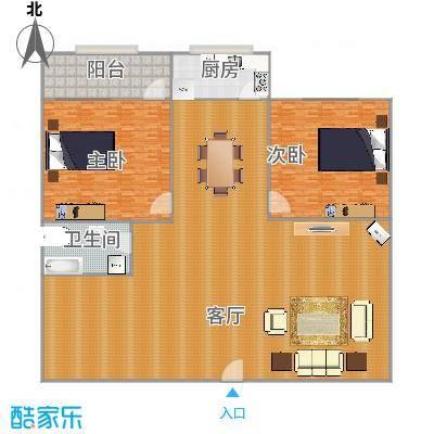 71平2室2厅