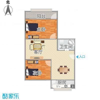 2室2厅74.78
