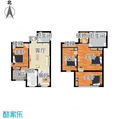 百子湾家园156平米3室2厅1厨2卫LOFT