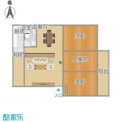 中山大学蒲园区户型三室两厅