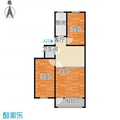 望京南湖渠西里69.28三室一厅小厅