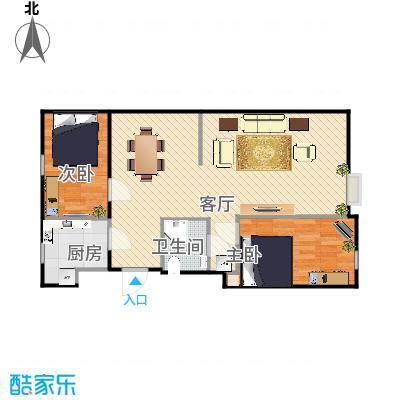 榆垡新城嘉园87.92两室两厅