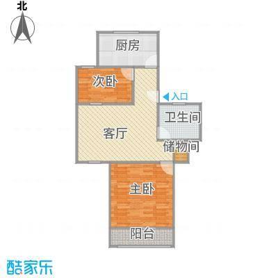 祁连三村的户型图