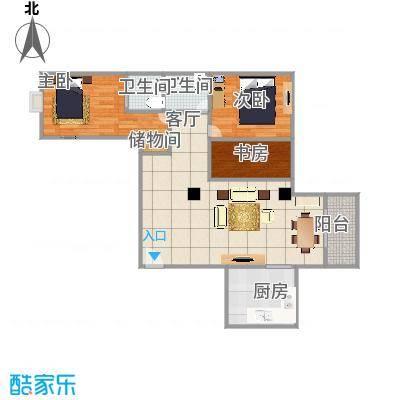 源昌豪庭80平两室一厅