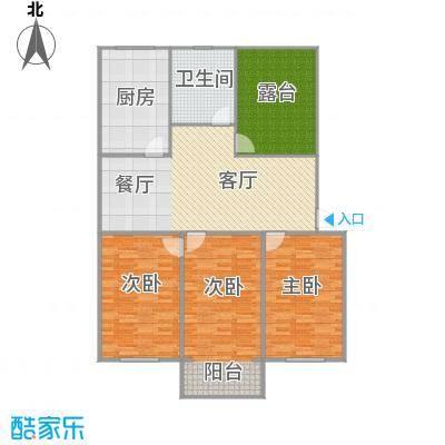 1楼3室2厅1卫