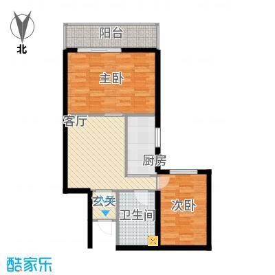 怡安嘉园2室1厅78.9平米