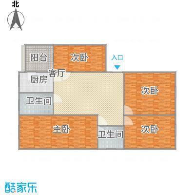 和平花园4房2厅2位
