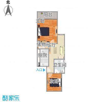 乾溪二村600弄72方两室一厅2