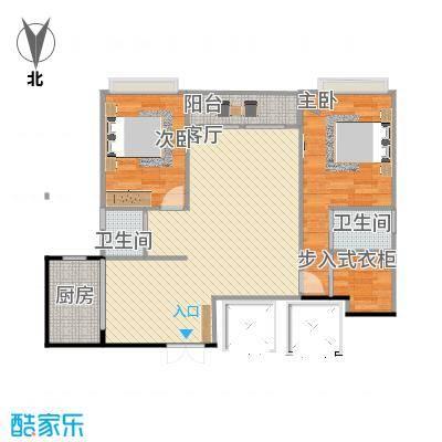 宁宝世家3号楼2单元两室两厅