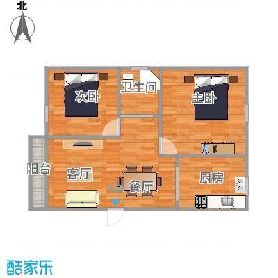 富通城三期53平米2房