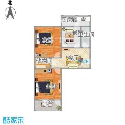 玉函路50号80平A1两室两厅