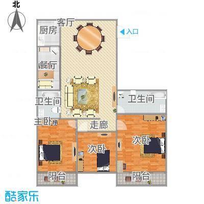 祥云公寓的户型图