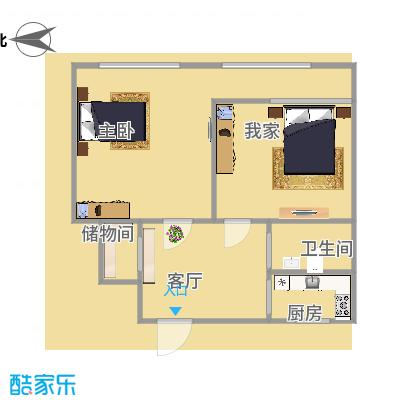 阜成门南大街的户型图