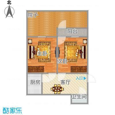 杨庄南村的户型图