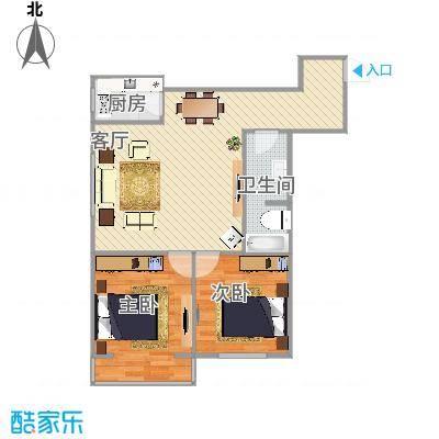 74两室一厅