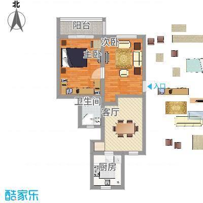 简约两室一厅