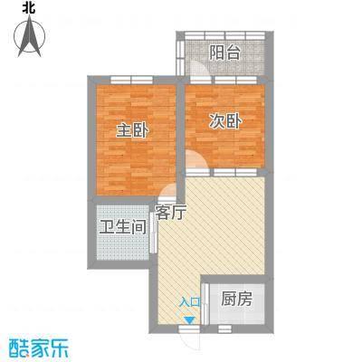 莲业新村的户型图2