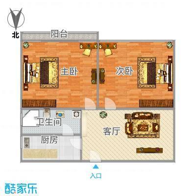 真光五街坊独栋两房一厅02-03室
