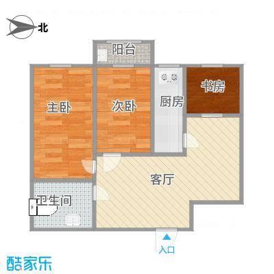 定安小区的户型图2