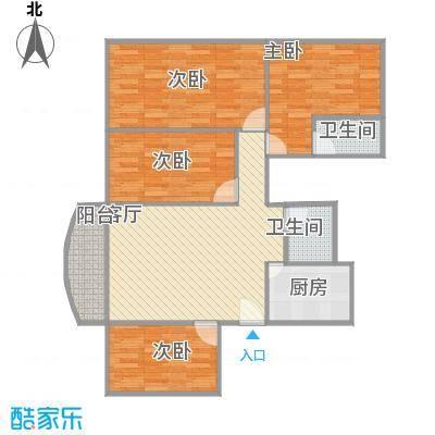 麒麟花园A1栋117平四房