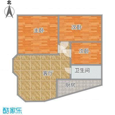 63平C1三房两厅