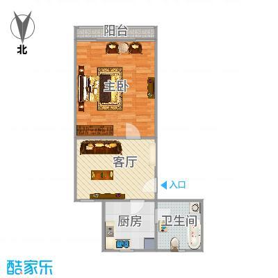 嘉秀坊49平方一房一厅