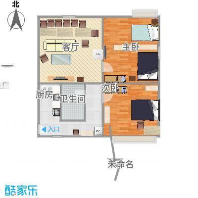 两室一厅的复制方案