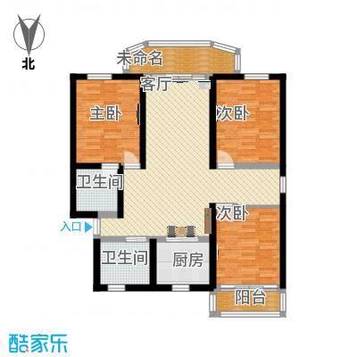 三室一厅122平米