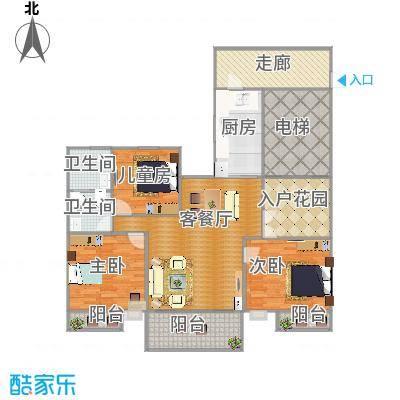 东成・凯亚国际的户型图