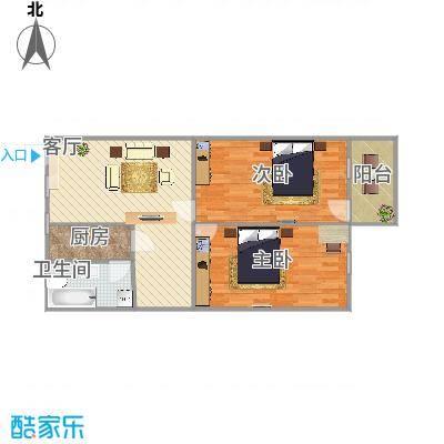 70方二室一厅