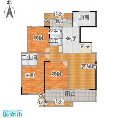 正荣御品世家139平三室两厅两卫